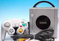 Free Shipping Game Cube Console Gamecube Nintendo GC silver Japan NTSC-J