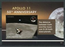 Grenada 2018 MNH Apollo 11 Moon Landing 50th Anniv 1v S/S Space Stamps