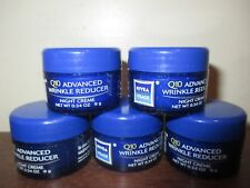 Lot of 5 NIVEA Visage Q10 Advanced Wrinkle Reducer Night Cream creme 0.34 oz