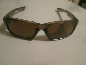 Oakley TWITCH Smoke Brown/Bronze Translucent  Sunglasses *For Parts*