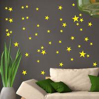34/51/38Pcs Star Removable Art Vinyl Mural Home Room Decor Kids Rooms Wall Stick