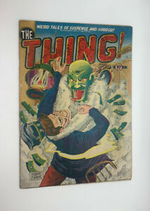 The Thing #3 1952~Fantastic Condition~Charlton Pre-Code Horror Crypt Vampire