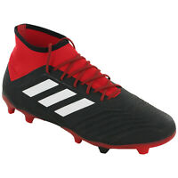 Adidas Predator 18.2 FG Football Boots Mens Moulded Studs Soccer Trainers DB1999
