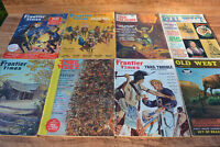 VTG West WESTERN MAGAZINES History Treasure GHOST TOWNS HUGE LOT 1960's