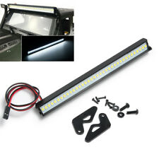 Metal Roof Lamp 32 LED Light Bar for 1:10 RC Crawler 313mm SCX10 Jeep Wrangler