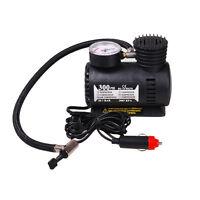 Portable 12V Car Motor Bike Tyre Inflator Electric Pressure Air Compressor Pump