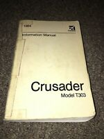 Cessna 1984 crusader information manual aircraft