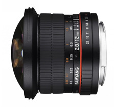 Samyang 12mm F2.8 ED AS NCS Full Frame Fisheye Lens: Sony FE E Mount CA2709