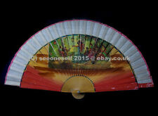 A SPANISH STAR !! Vintage beautiful hand fan #21 - whole collection goes!