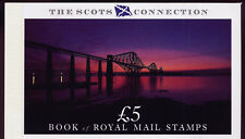 Gb 1989 The Scots Connection Prestige Booklet Dx10