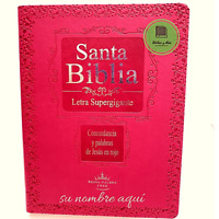 BIBLIA LETRA SUPER GIGANTE Reina Valera1960 FIUCSA INDEX PERSONALIZADA