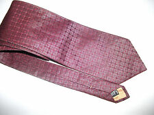 Men's Seta Cravatta YSL YVES SAINT LAURENT 100% Seta Cravatta ottime condizioni