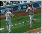 STL Cardinals Randal Grichuk/Jose Oquendo MLB Signed Autographed 11x14 Photo