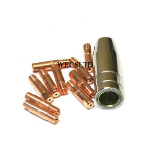 MB 15 Mig Welding Tips And Shroud, SIP, Clarke etc Compatible