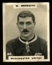 More details for tobacco card, pinnace, footballers,1922,kf type 1b,w meredith,manchester utd,#62