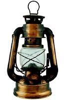 BRONZE hurricane 7 1/2  in lamp emergency light oil lantern hanging kerosene