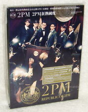 2PM Republic of Taiwan CD+live DVD+60P (Ltd Ver.A)「1st Contact in Japan」