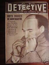 Détective 1951 BRUAY MARBéVILLE STEENBECQUE BOUZIGUES
