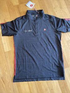 Castelli Tech Polo Shirt Team Ineos Pinarello Size Medium Brand New