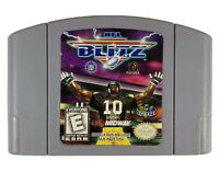 NFL Blitz 2000 (Nintendo 64, 1999) Tested- Authentic- N64 - Free Shipping