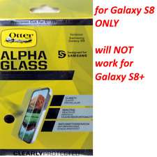 Genuine OtterBox Alpha Glass Series Screen Protector for Samsung Galaxy S8