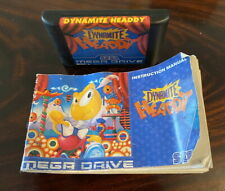Sega Mega Drive Juego-Dynamite Headdy-Sin Caja
