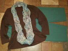 Women's plus size clothing lot sz 20w short 2x pants blouse scarf low ship