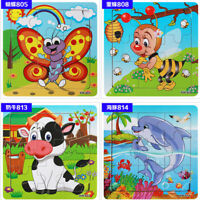 Wooden Kids Jigsaw Toys For Children Education Learning Training Puzzles Toy G