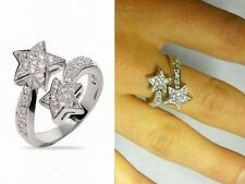 nuovo anello STELLA cubic zirconia argento 925 - sterling silver cz star ring