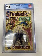 Marvel Comics Fantastic Four 59 CGC Graded 9.2
