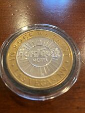 Limited edition Las Vegas Gaming Token Hard Rock Casino & Hotel .999 Silver
