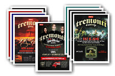 TREMONTI - 10 promotional posters  collectable postcard set # 1