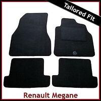 Renault Megane CC Coupe & Cabriolet Mk2 2004-2009 Tailored Carpet Car Mats BLACK