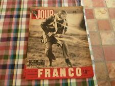 magazine hebdomadaire NUIT ET JOUR  n° 35 clark gable ,franco  1945