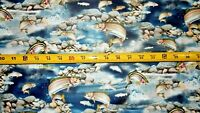 Rainbow Trout Fish by ARTWORKS XV for Quilting Treasures.27625-N Cotton fabric