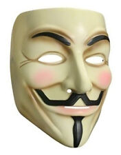 V For Vendetta Mask Style 1, Mens Costume Accessory