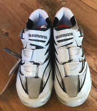 Shimano Men's Road Cycling Shoes SH-R315, EUR 38 White/Black/Red New old stock
