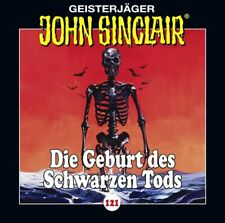 John Sinclair CD Folge 121 Die Geburt des Schwarzen Tods  Teil 3 von 4  OVP