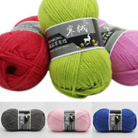 100g Soft Wool Yarn Hand Knitting Crochet Yarn Thread Line For Sweater Scarf