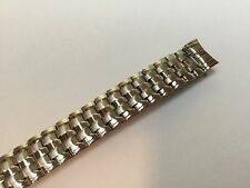 13 MM Expansion Stainless Steel Stretch Watch Band Silver Tone Strap