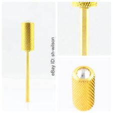 2pcs Crystal Large Barrel Bit-Medium (M-1140416)-Gold-WILSON Carbide Nail Bits