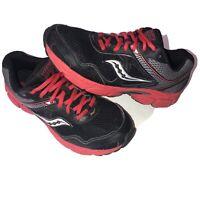 Saucony Cohesion 10 LTT Boy's Sneakers Black & Red Size US 6.5M UK 5.5 EU 38.5