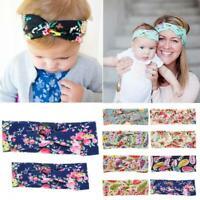 twist mama und baby - stirnband kopf wickeln florale haarband turban knoten
