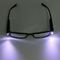 LED Light UP Reading Glasses Spectacle Diopter Magnifier Strength +1.00 - +4.00