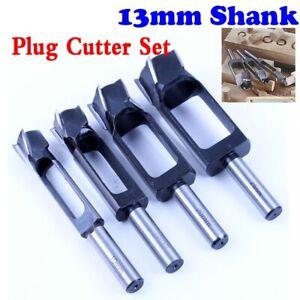 Straight And Round Wood Plug Hole Cutter Plug Cutting Drill Take Steel Knife Log