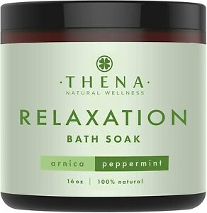 Organic Muscle Soak for Relaxation - with Stress Relief Aromatherapy