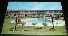 Vintage Postcard Tagus Ranch Motel & Restaurant Tulare Calif