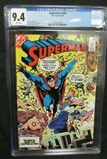 Superman #398 (1984) Copper Age DC CGC 9.4 A087