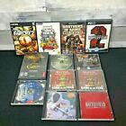 Pc Cd Rom Computer Games (lot Of 12) Gta, Farcry, Battlefield, Unreal Tny, More