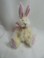 "World Of Miniature Bears Dollhouse Miniature 5"" Easter Bunny Rabbit #5070CR"